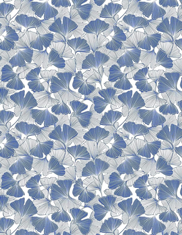 Sanbao Studio Ceramic Decals Blue Birds and Leafs