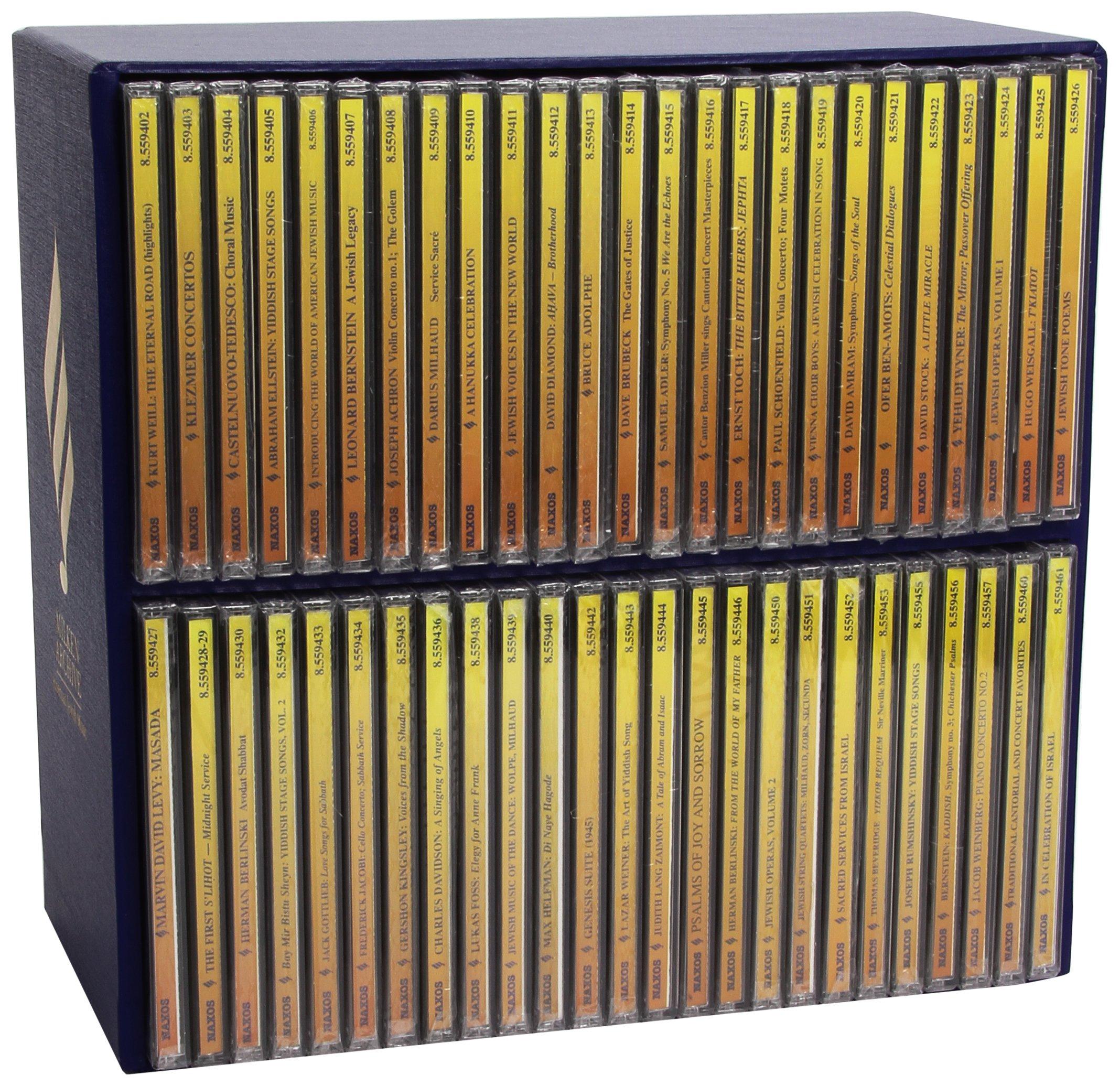 Milken Archive 50 CD Box Set by NAXOS.