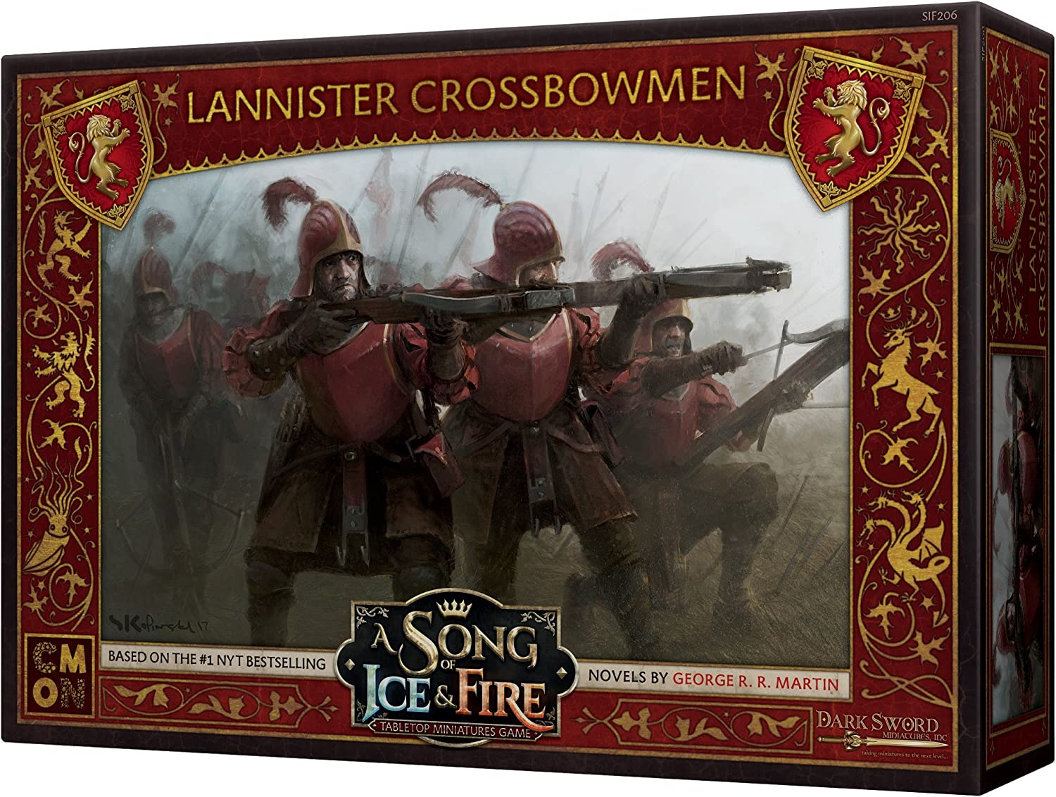 Multicolore Asmodee CMNSIF206 Arbal/ète Lannister A Song of Ice and Fire Exp Version Anglaise