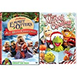 Emmet Otter's Jug-Band Christmas Kermit the Frog DVD + It's a Very Merry Muppet Christmas Movie Holiday Double Feature Set