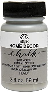 product image for FolkArt 36310 Home Decor Chalk Furniture & Craft Paint in Assorted Colors, 2 ounce, Castle