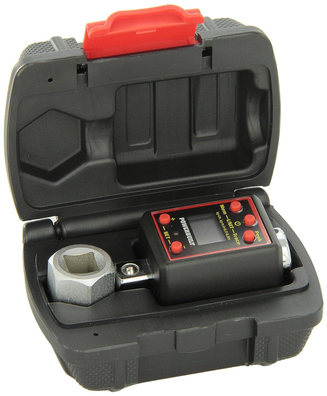 Powerbuilt 940962 1/2-Inch Drive Digital Torque Adapter, 29 to 147 Feet-Pounds