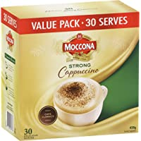 Moccona Strong Cappucccino Coffee Mixes, 30 Count