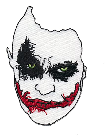 Amazon Patch Squad Mens Joker Face Why So Serious Embroidered
