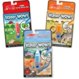 Melissa & Doug Water Wow! Farm/Safari/Under the Sea Reusable Colors with Pad (3 Pack)