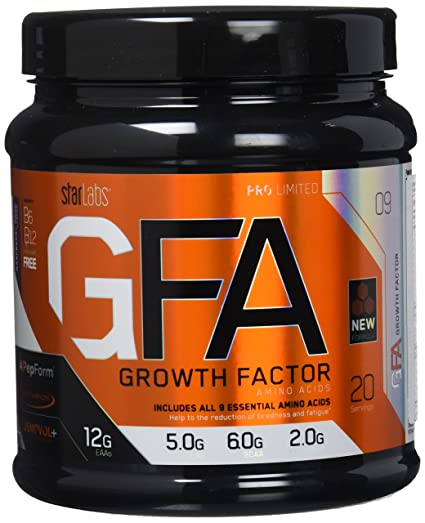 Starlabs Nutrition GFA Growth Factor Raspberry Drop - 340 gr
