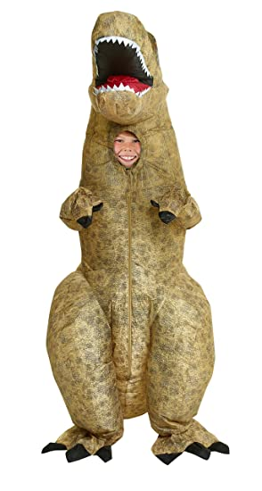 e3cda5dbfd75 Amazon.com: Morphsuits Giant T-Rex Inflatable Kids Costume, One Size ...