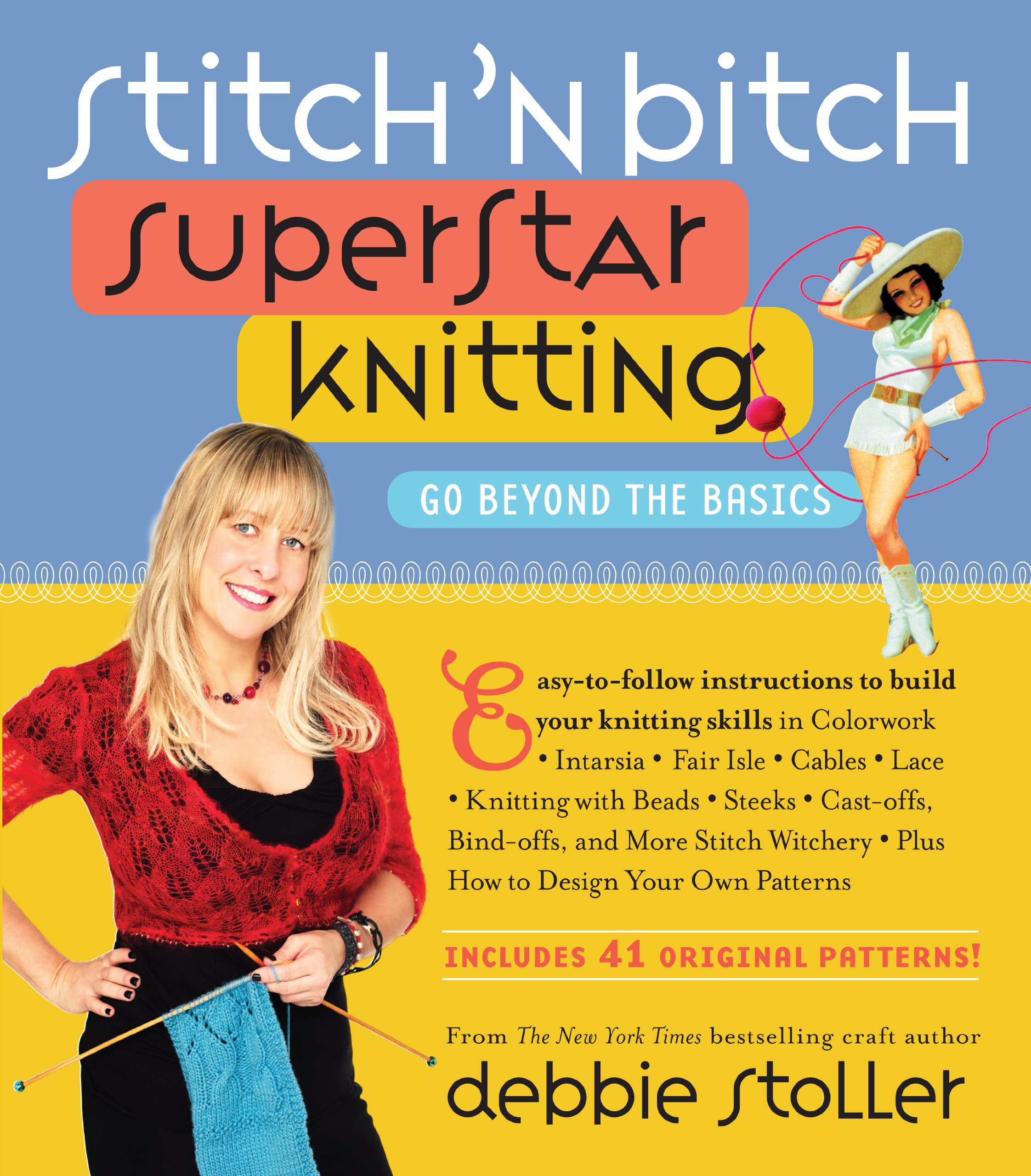 Stitch Bitch Superstar Knitting Beyond product image