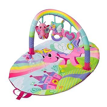 56bb00a68 Amazon.com : Infantino Sparkle Explore and Store Activity Gym Unicorn : Baby