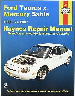 amazon com chilton ford taurus sable 1996 2007 repair manual 26702 rh amazon com 1995 Ford Taurus Repair Manual 1999 Ford Taurus Repair Manual
