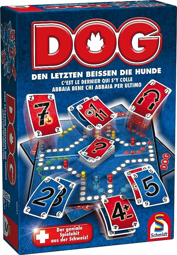 Schmidt Spiele DOG - Juego de tablero (19 cm, 6,7 cm, 27,5 cm): Amazon.es: Juguetes y juegos
