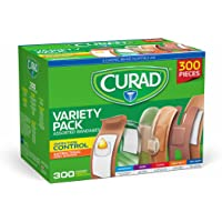 300-Pieces Curad Antibacterial Waterproof Bandages