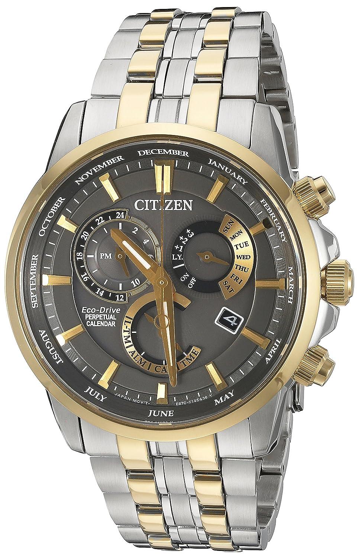 Amazon.com: Citizen Men's BL8144-54H Eco-Drive Analog Quartz Two-Tone  Stainless Steel Watch: Watches