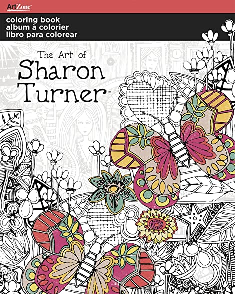 Trends International Sharon Turner Coloring Book