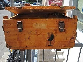 Lagermaulwurfde Holzkiste Weinkiste Truhe Shabby Chic Vintage Tisch