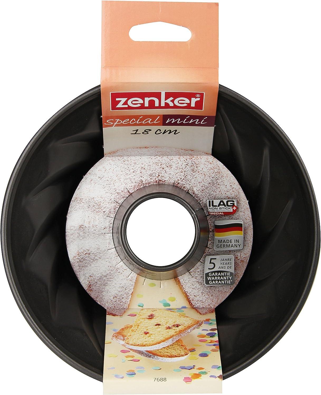 18 cm Zenker 7688 kleine Gugelhupfform Single Backform Bundform
