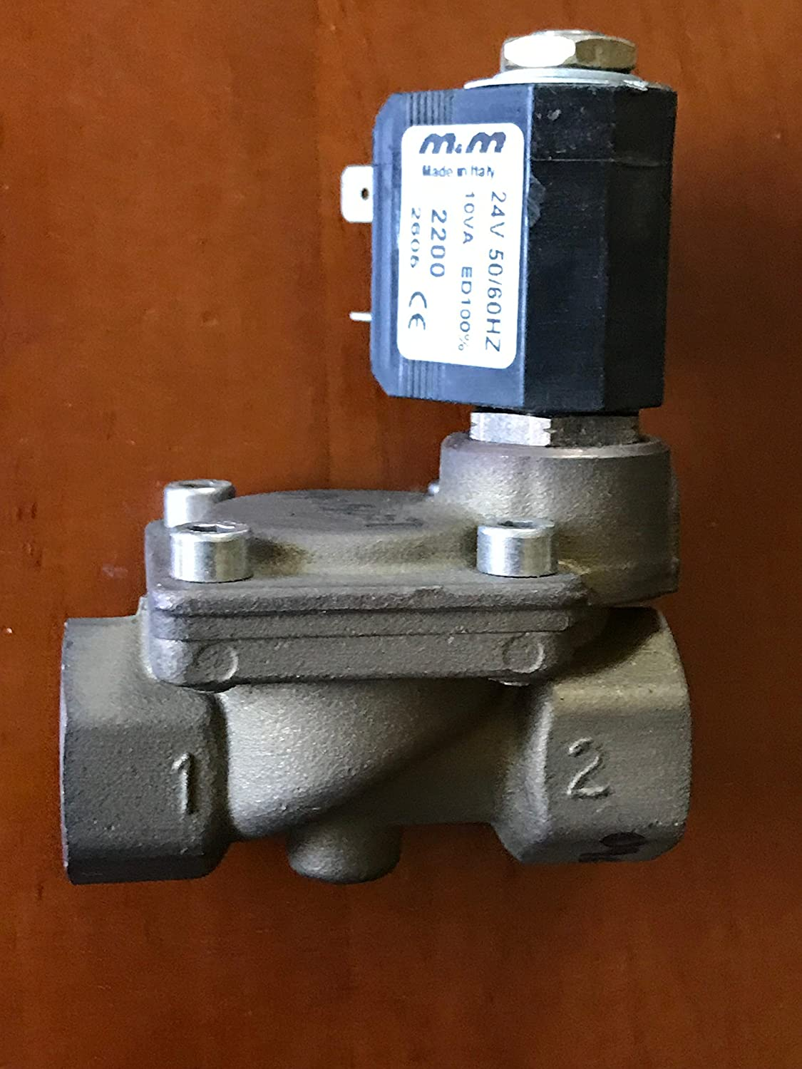 Water Solenoid Valve for Firbimatic, Union, Realstar dry cleaning machines V7374 0905001 #0905007