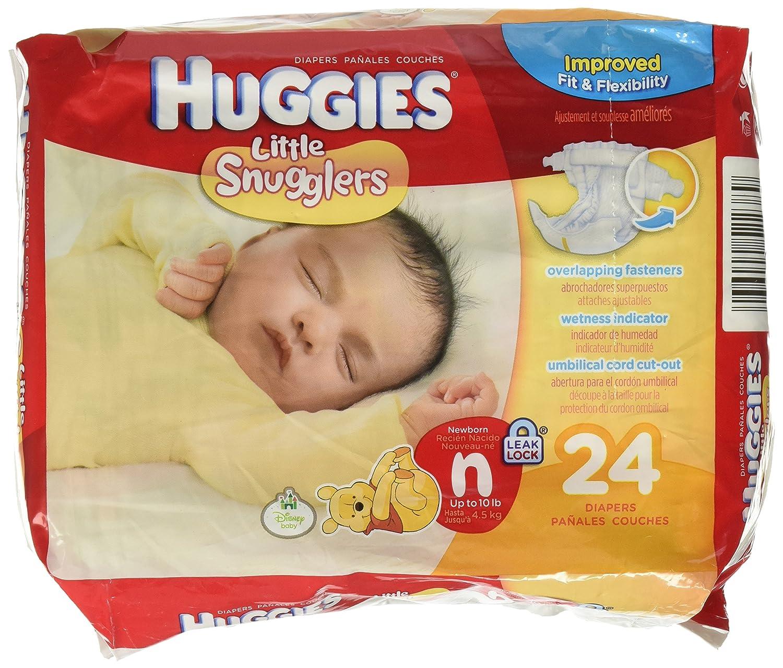 Amazon.com: Huggies Little Snugglers Disney Baby Sz Newborn 24 Ct by  Kimberly-Clark: Health & Personal Care