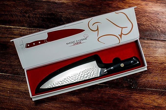 Amazon.com: Magic Cocina Profesional Cuchillo de chef ...