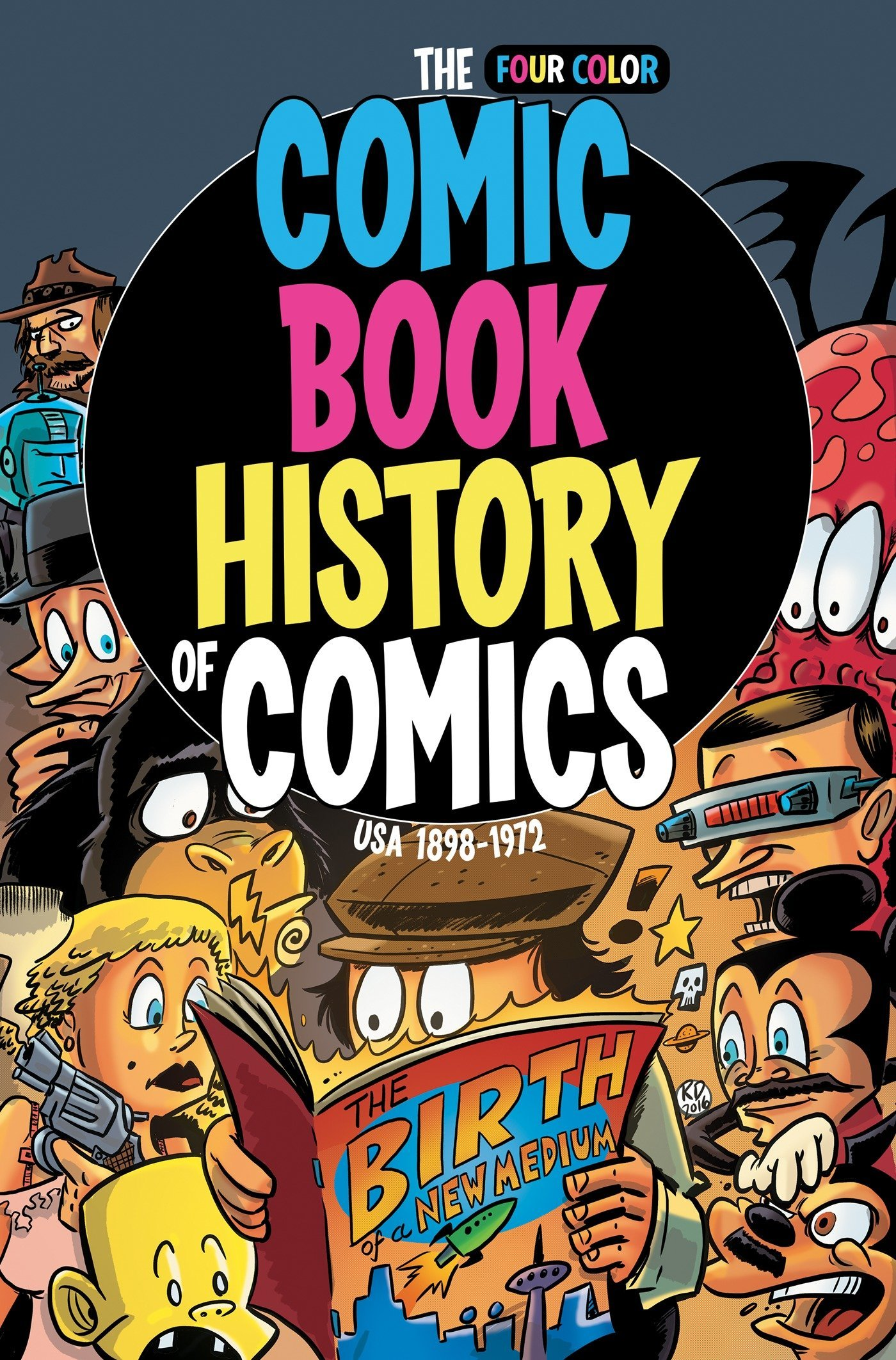 book comicser of comic history