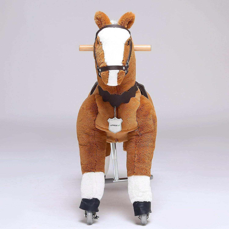 Amazon.com: UFREE Horse Action Pony, Ride on Toy, Mechanical Moving ...