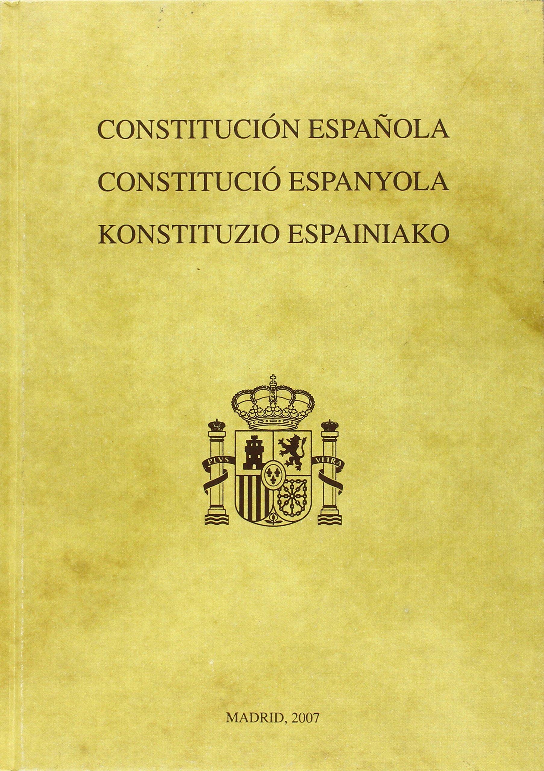 Constitución Española. Edición facsímil Textos Históricos: Amazon.es: Libros