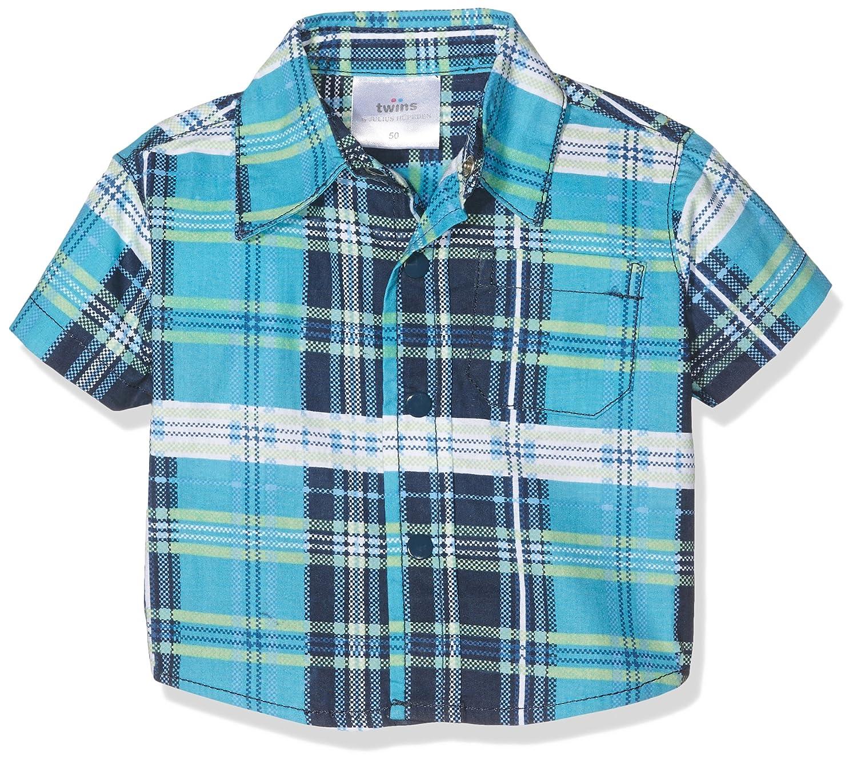 Twins Baby Boys Short Sleeve Shirt