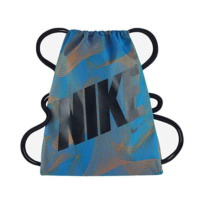 c87cb859b Amazon.com: Nike Graphic Gym Sack (Photo Blue): Clothing