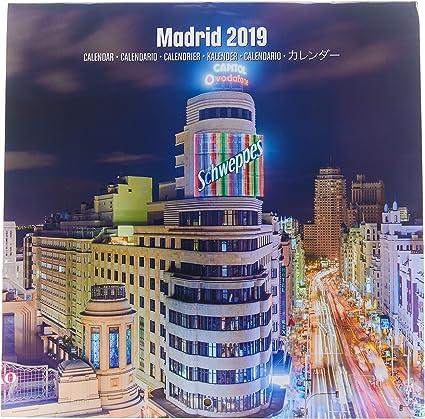 Grupo Erik Editores CP19076 - Calendario 2019 Madrid, 30 x 30 cm ...