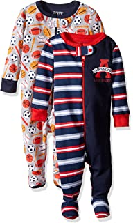 61db776fb906 Amazon.com  The Children s Place Baby Boys  Long Sleeve One-Piece ...