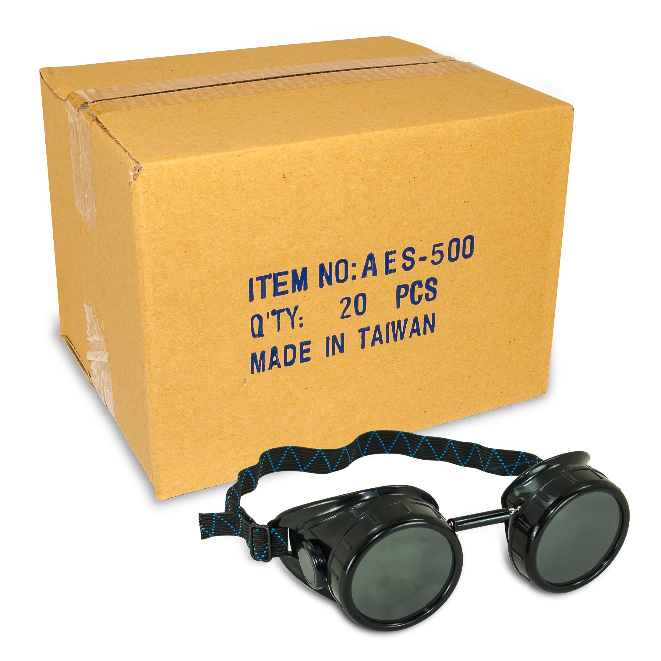 Black Welding Cup Goggles - 50mm Eye Cup (20)