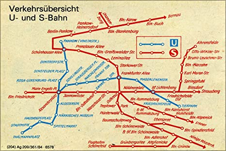 Berlin Subway Map Poster.Amazon Com 24x36 Poster Public Transport Map Subway And S Bahn