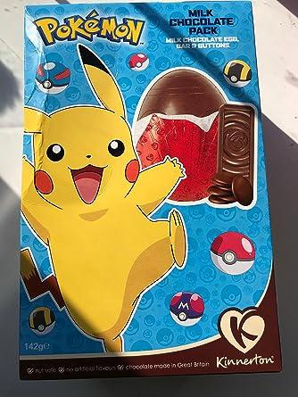 Pokemon oeuf en chocolat surprise avec figurine