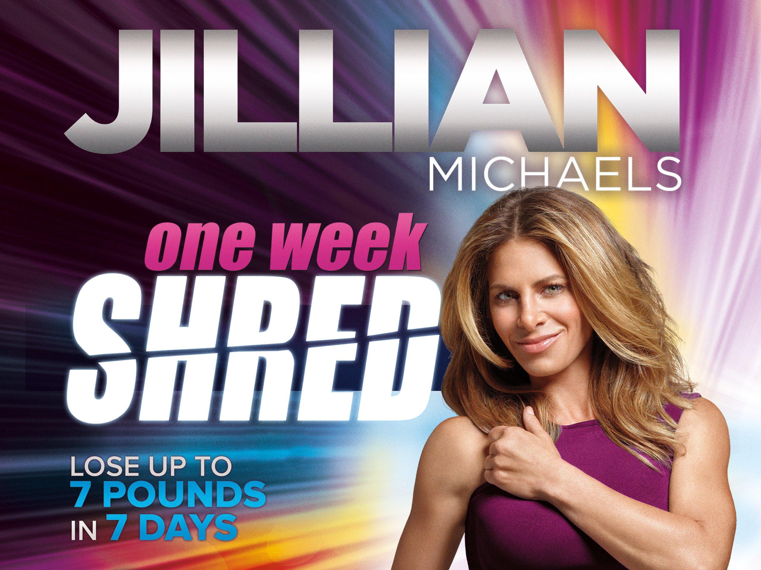 Amazon jillian michaels one week shred linda shelton