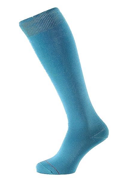 ALBERT KREUZ calcetines hasta la rodilla para hombre de algodón mercerizado hilo de Escocia - varios colores - un par: Amazon.es: Ropa y accesorios