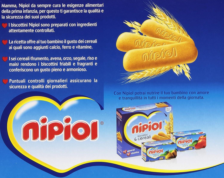 Nipiol - Galletas 6 Cereales, 2 minerales, 4 Vitamine - 4 ...
