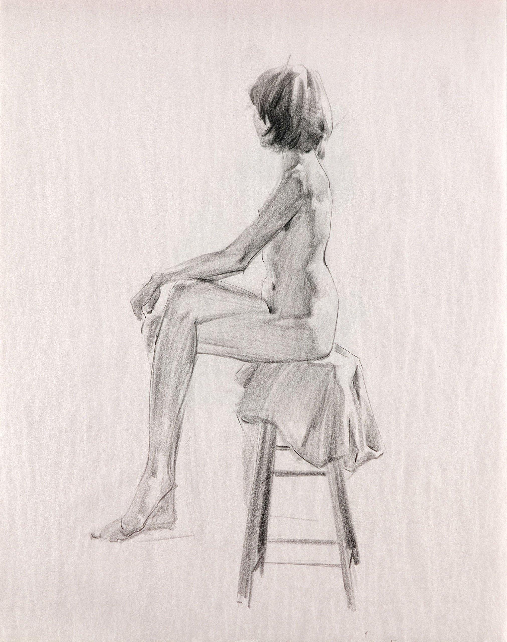 2017020802 Girl Sitting On Stool
