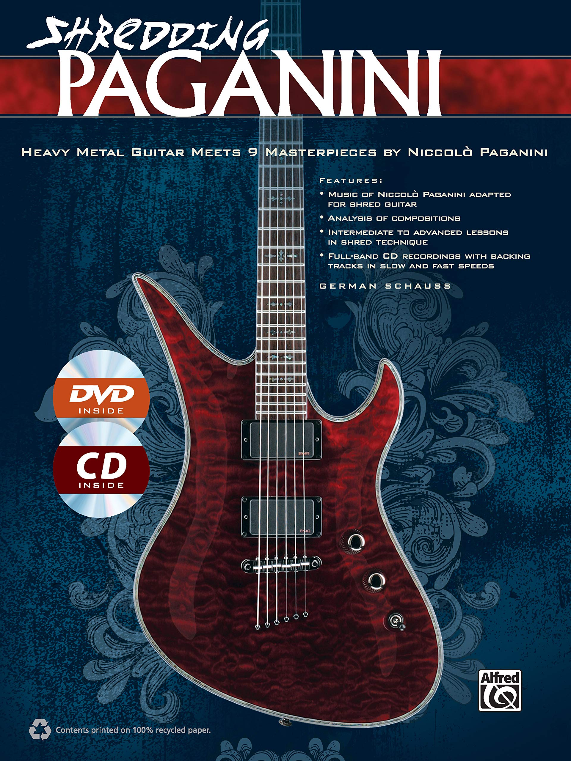 Shredding Paganini: Heavy Metal Guitar Meets 9 Masterpieces by ...