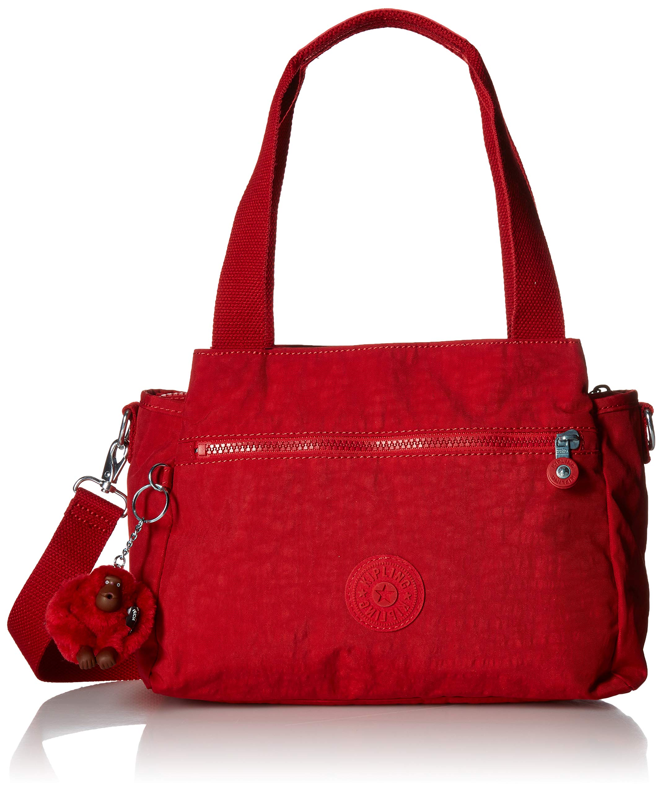 Kipling womens Elysia Solid Convertible Crossbody Bag,  Cherry, One Size