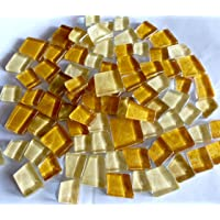 Sai Mosaic Art Pre-Cut Glass Mosaics, Brown , 200 gms