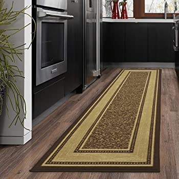 Ottomanson Contemporary Design Non-Slip Area Rug