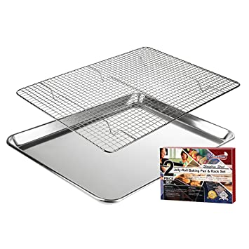 Amazon.com: KITCHENATICS - Estante de acero inoxidable de ...