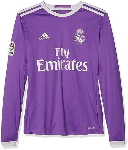 adidas A Jsy Y Ls 2ª Equipación Real Madrid Cf 2015 16 f0d1b10244b78