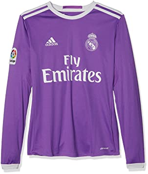 adidas Away Real Madrid CF 2015 16 - T-Shirt Official for Children ... bf64279df