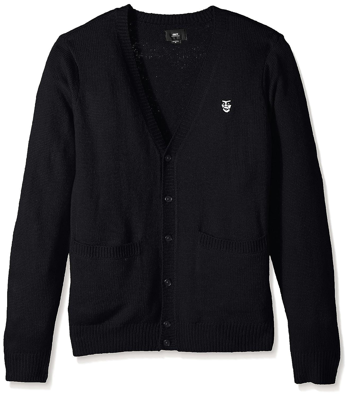 OBEY Men's Court Cardigan Ii Sweater OBEY Apparel 151010013