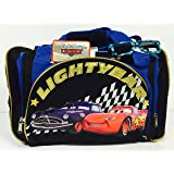 Disney Cars Lightning McQueen Duffle Bag and Sunglasses Set