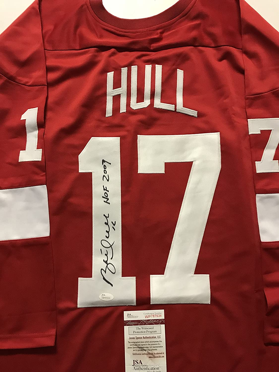 Autographed/Signed Brett Hull