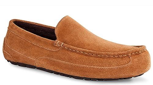 8eddc8c36ce UGG Australia Mens Alder Slipper Chestnut Size 10: Amazon.ca: Shoes ...