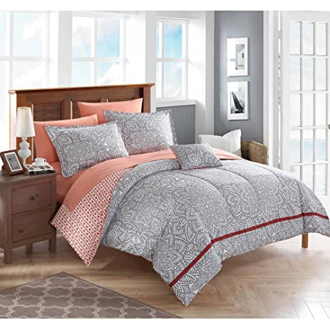 Amazon.com: Aria Bed-In-A-Bag Bedding Set, Full Size: Home & Kitchen