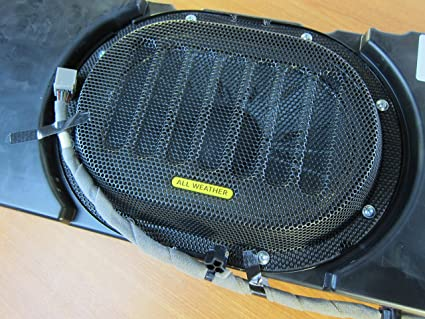 amazon com: 2015-2019 jeep wrangler overhead all weather speaker with wiring  new moapr oem: automotive